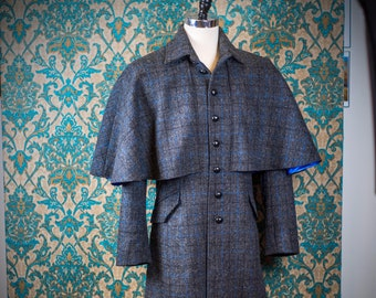 Harris Tweed Greatcoats and Inverness Coats