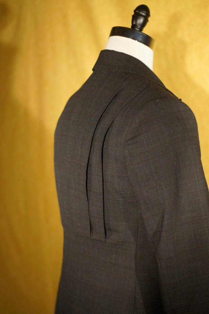 Men's Vintage Style Suits, Classic Suits Retro Action Back Suits----1909 Bespoke $2,275.00 AT vintagedancer.com