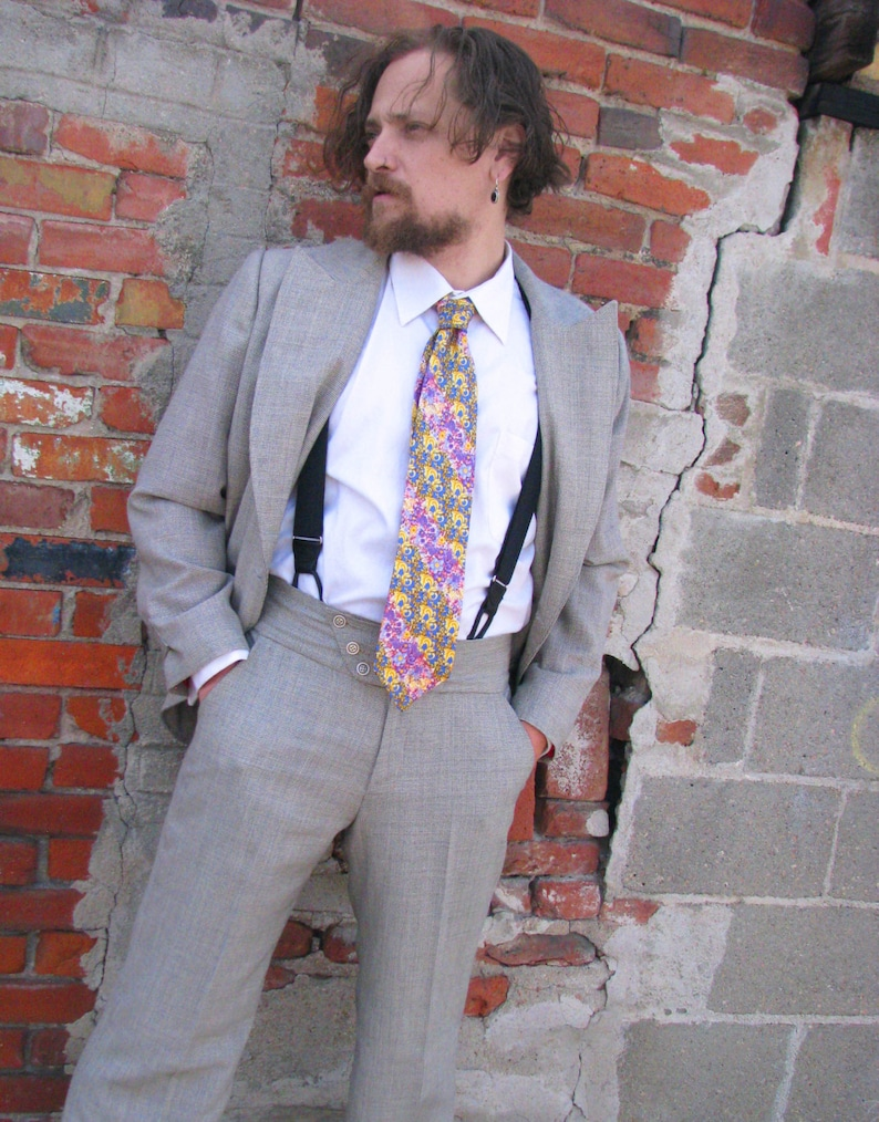 Men's Vintage Style Suits, Classic Suits The Double-Breasted Houndstooth Sporting Suit $1,845.00 AT vintagedancer.com