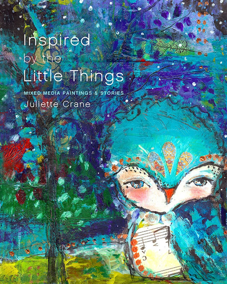 PDF eBook Inspired By The Little Things by Juliette Crane image 0