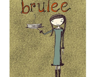 Brulee 8x10 Kitchen Print