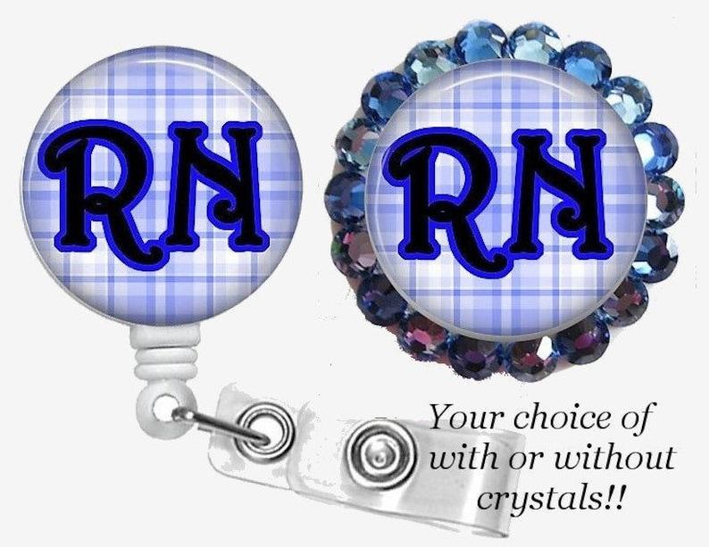 Nurse Retractable ID Badge Reel,Nurse Badge Holders, ID Card Holder,Bling  Badge Holder,Crystal Badge Reel,Nurse Gift,Cute Reel,RT Badge Reel