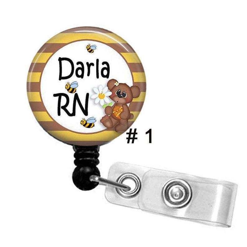 Nurse Badge Reels,ID Badge Holders,ID Badge Reel Nurse Bling Retractable Badge Holders,Bling Badge Holder Pediatric Nurse ID Badge Holder