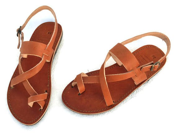 b8a70d8ca43565 Handmade Roman Grecian leather sandals NEW COLOR
