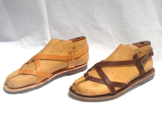 ANANIAS griechische Römer Leder Sandalen