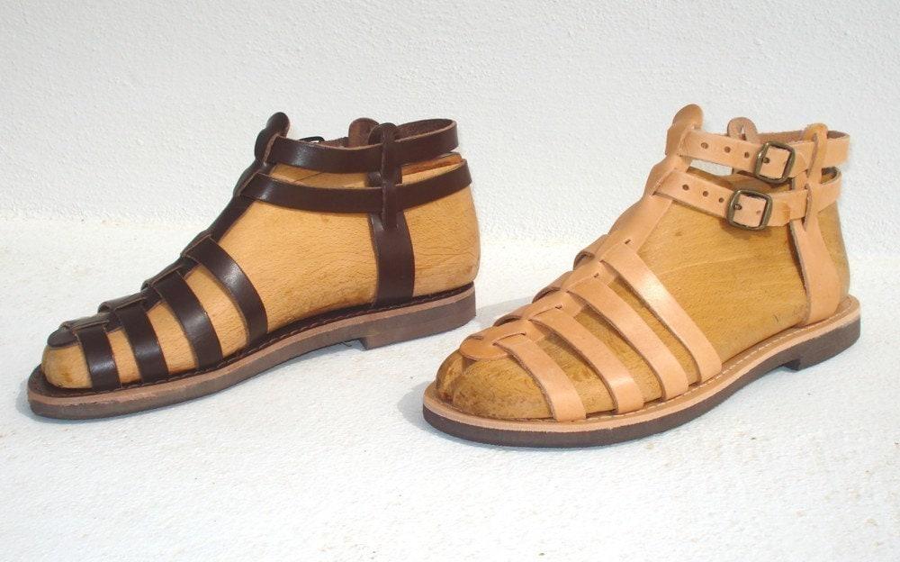 ANANIAS griechische Sandalen römische Grecian handgemachtes   Etsy fee397518c