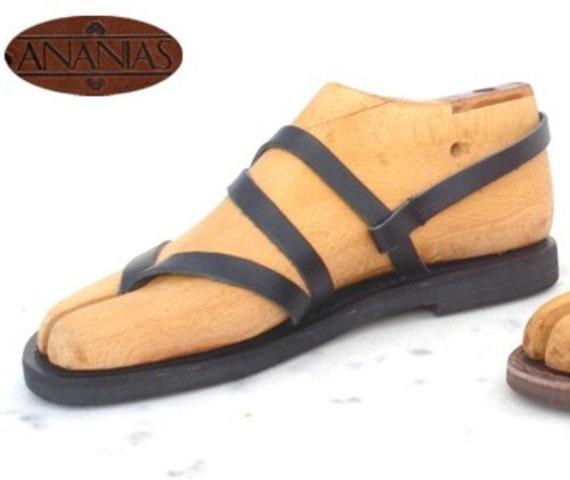 ANANIAS griechische Sandalen römische Grecian handgemachte Ledersandalen