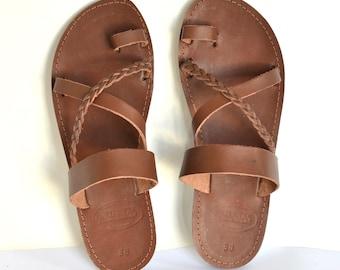 ANANIAS Roman Greek handmade leather sandals