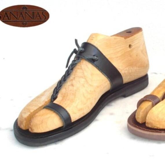 Griechische Sandalen römische Grecian Ledersandalen für Männer  handgefertigt in Griechenland afc1699407