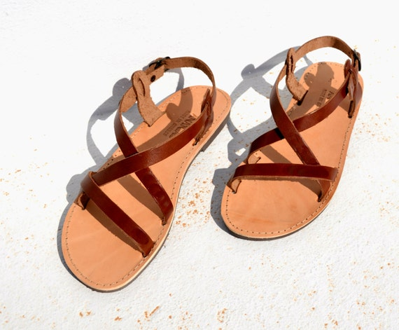 """<Span Data Inner Title="""""""">Handmade Roman Grecian Leather Sandals New Color</Span> by Etsy"""