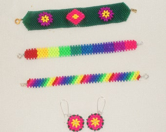New Listing!  Fun with Fluorescent Colors