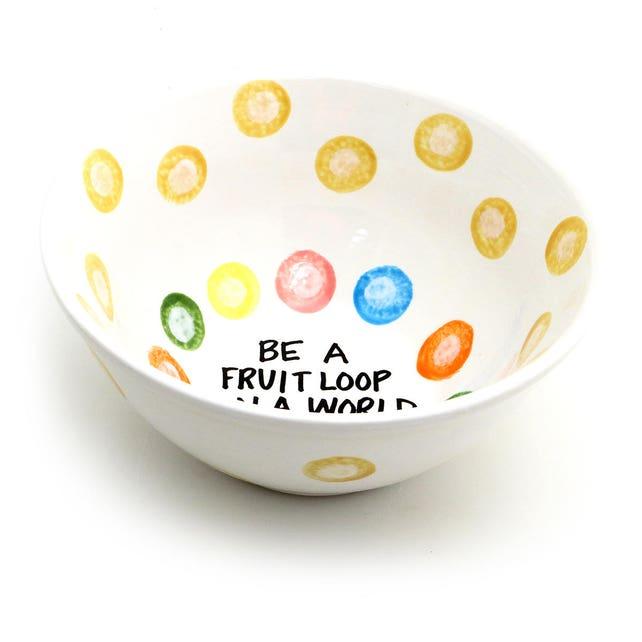 Müslischale lustige Müslischale werden eine Frucht-Schleife | Etsy