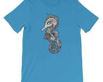 Sea Horse Short-Sleeve Unisex T-Shirt