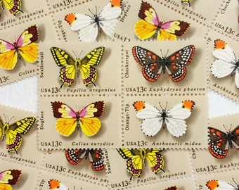 Butterflies .. 13cent stamps .. 20 postage stamps