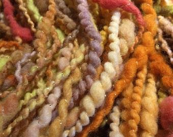 Large Skein Beaded Handspun Yarn