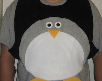 Adult Penguin Bib, Adult Bib, Clothing Protector, Men and Women Adult Bib, Adult Animal Bib