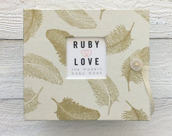BABY BOOK   Golden Feathers Album