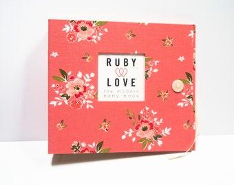 BABY BOOK   Summer Blush Pink Album