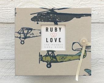 BABY BOOK   Vintage Planes Album