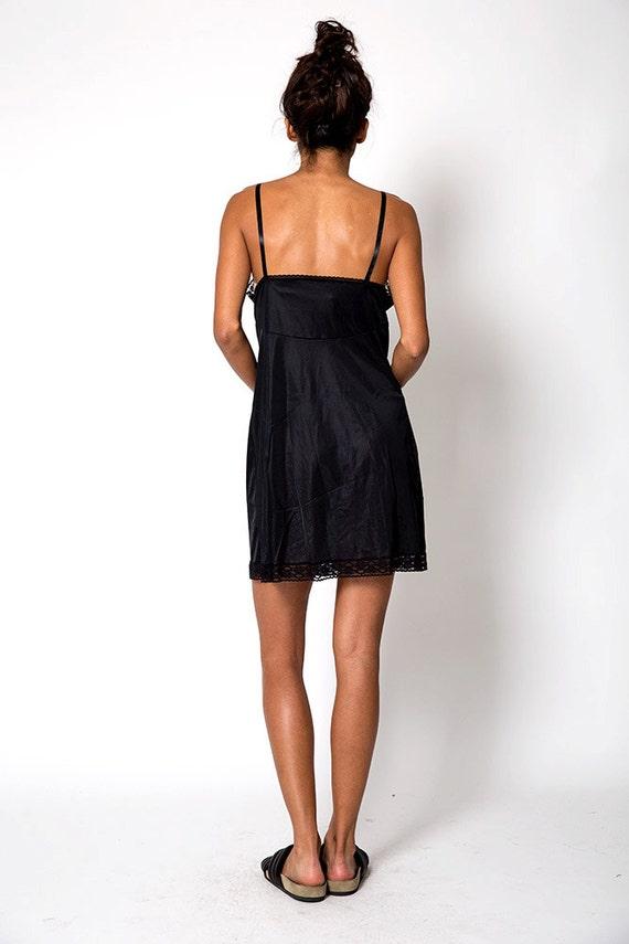 The Vintage Little Black Slip Dress - image 4