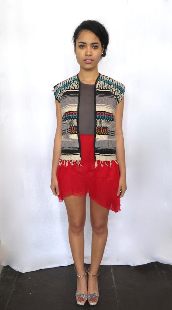 The Aztec Knit Vest