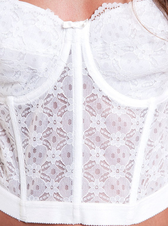 Gelmart Made in Philippines White Lace Vintage Co… - image 5