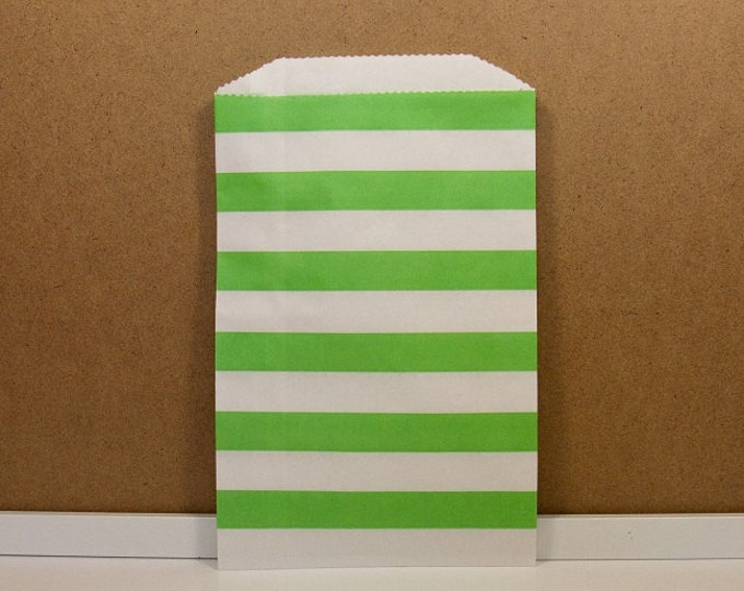Horizontal Middy Bitty Bags - Green