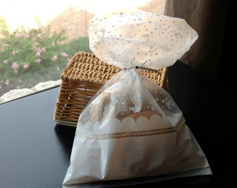 Little White Flowers Bags