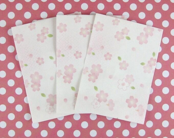 Sakura/Cherry Blossom Mini Paper Bags