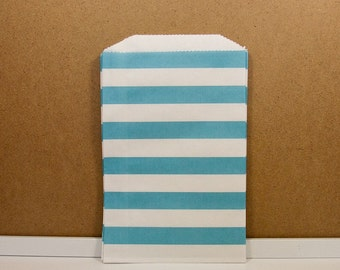 Horizontal Middy Bags - Blue