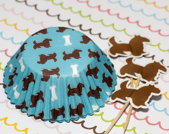 Pups n Bone Cupcake Set