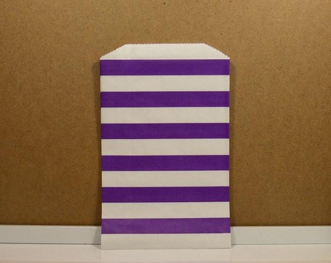 Horizontal Middy Bitty Bags - Purple