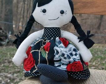 CUSTOM Calico Rag doll for adoption