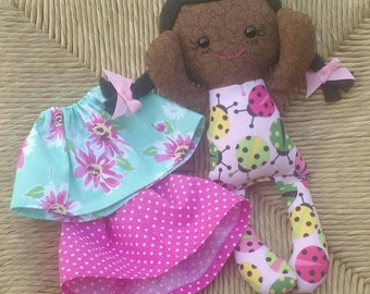 Easter Rag doll African Calico ready to ship