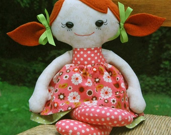 Down Syndrome Special Needs Rag doll  Calico CUSTOM