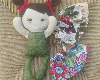 Easter Rag doll Calico ready to ship
