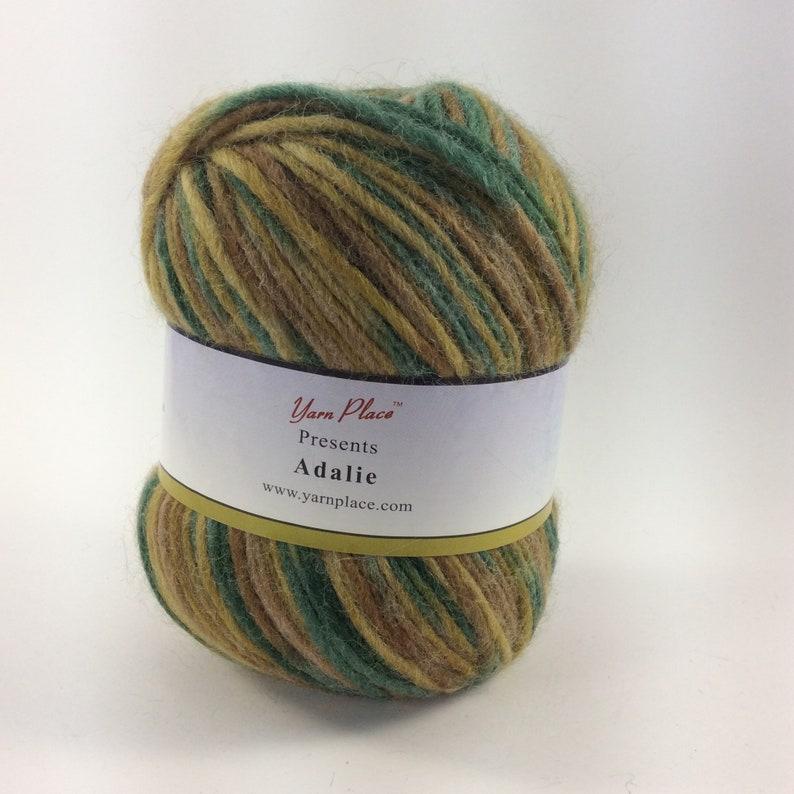 deSTASH worsted yarn Worsted weight knitting yarn multi image 0
