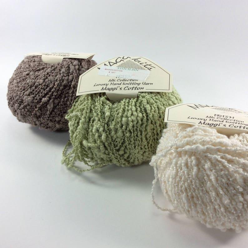 deSTASH: Maggi Knits Irish Cotton knitting yarn image 0