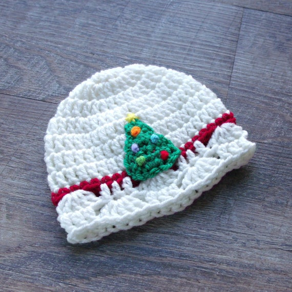 Christmas Tree Hat Baby Christmas Hat Crochet Beanie Cap  5c5f2bd5d355