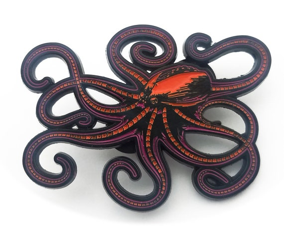 Robot Octopus Pin