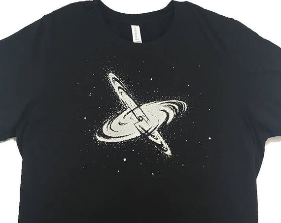 Glow in the dark Galaxy T-shirt
