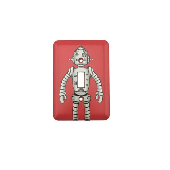 Robot Light Switch Plate - Standard
