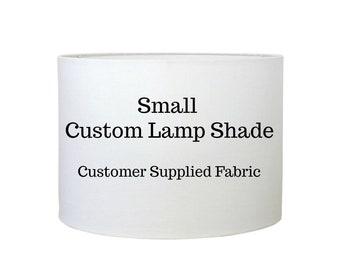 Custom Lamp Shades - Lampshade - Drum Lampshade - COM - Customer Material - Table Lamp Shade  - Made to Order - Custom Lighting