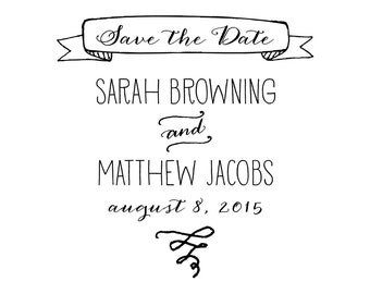 Oh So Sweet Save the Date