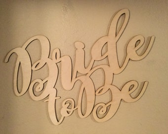 bride to be sign etsy