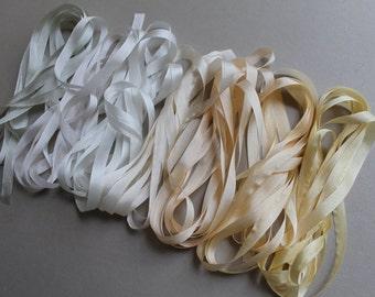 Lily Mix - 14 metres of 7mm silk ribbon
