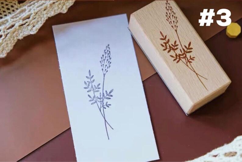 Decorative Mix Wood Stamp