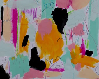 Abstract Painting, Original, Modern, Contemporary  Colorful