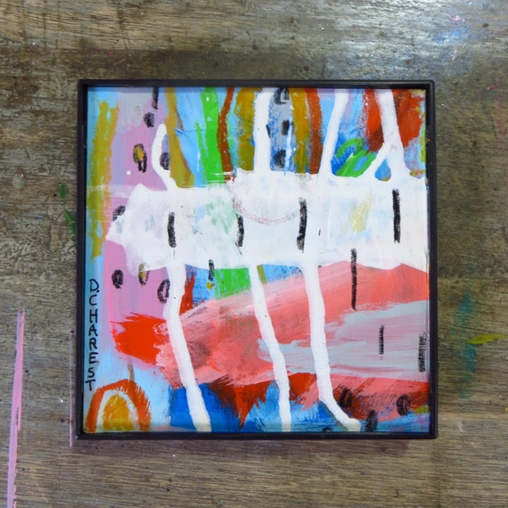 Etsy Framed Abstract Art