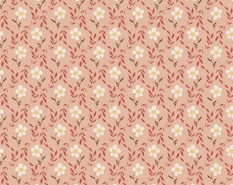 Harmony Bloom Apricot - Riley Blake Designs - Floral Flowers - 1/2 Yd cuts, 100% cotton, C11094